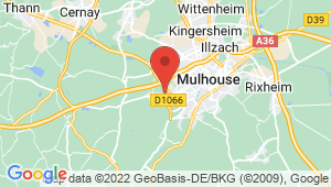 Carte de localisation du centre de contrôle technique Morschwiller le Bas