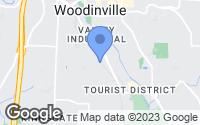 Map of Woodinville, WA