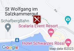 Dorf-Alm zu St.Wolfgang - Karte