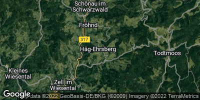 Google Map of Häg-Ehrsberg