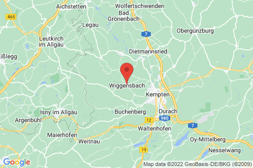 Karte Wiggensbach
