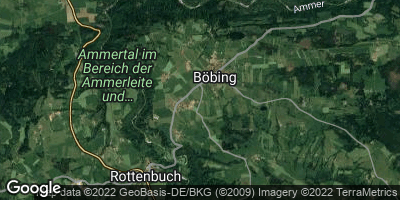 Google Map of Böbing