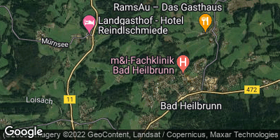 Google Map of Bad Heilbrunn