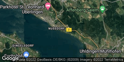 Google Map of Nußdorf