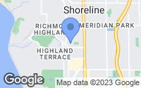 Map of Shoreline, WA