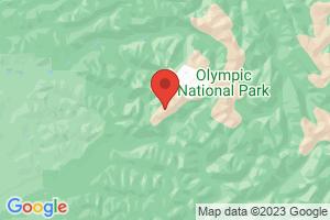 Map of Olympic Peninsula