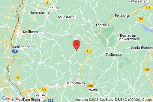 Karte Elbenschwand