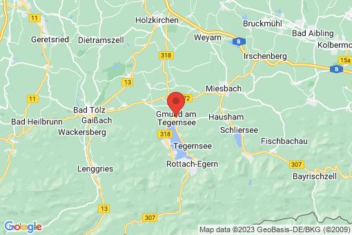 Karte Gmund am Tegernsee