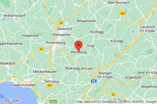 Karte Waldburg