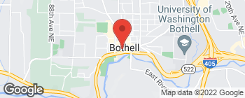 Map of 10031 Main St in Bothell