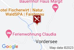 Hotel Landgasthof Fischerwirt - Karte