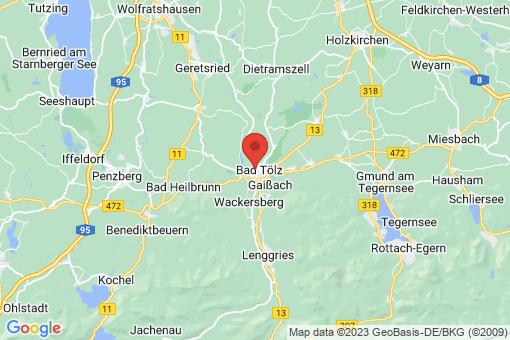 Karte Bad Tölz