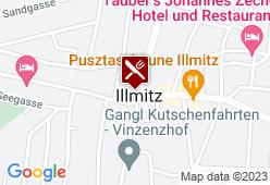 Dorfwirtshaus Zentral - Familie KROISS - Karte