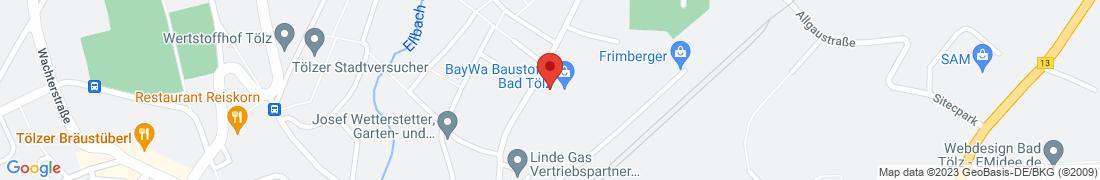 BayWa Technik Bad Tölz Anfahrt