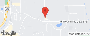 Map of 18500 156th Ave NE in Woodinville