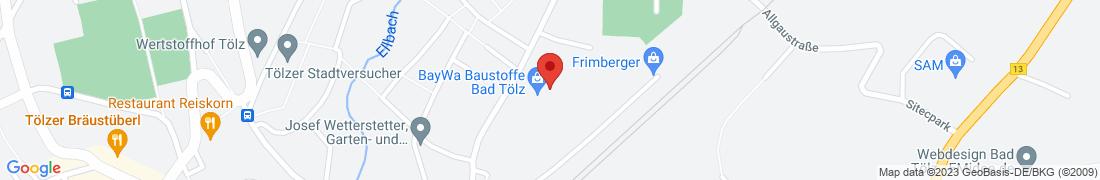 BayWa Haustechnik Bad Tölz Anfahrt