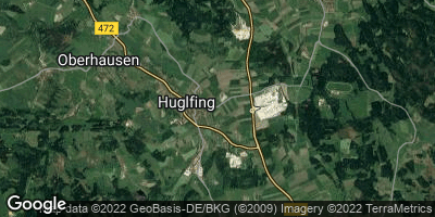 Google Map of Huglfing
