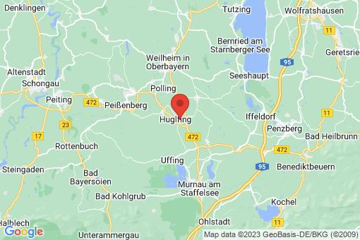 Karte Huglfing