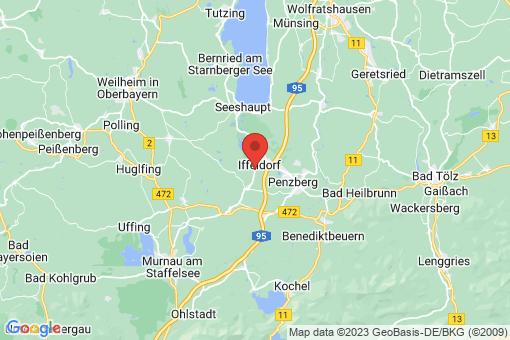 Karte Iffeldorf