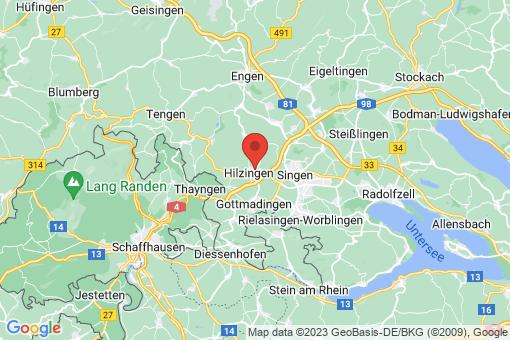 Karte Hilzingen