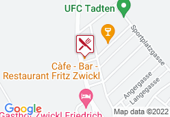 Cafe-Bar-Restaurant Fritz Zwickl - Karte