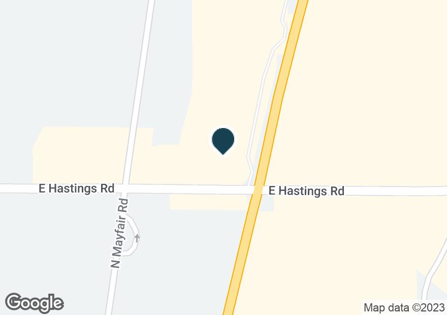 Google Map of12315 HWY 395