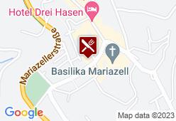 Questers Feine Fische Mariazell - Karte