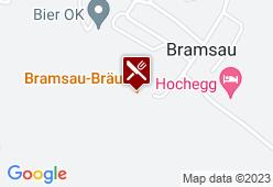 Bramsau Bräu - Karte