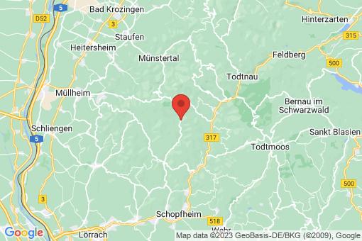 Karte Bürchau