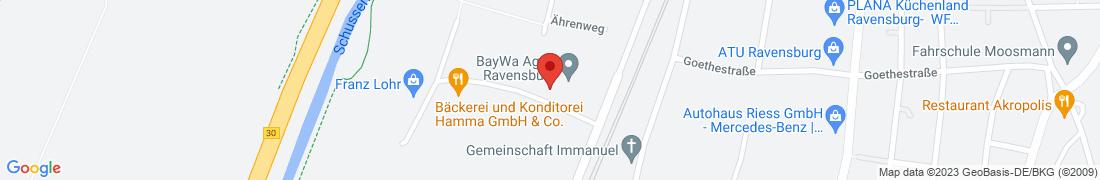 BayWa Agrar Ravensburg Anfahrt