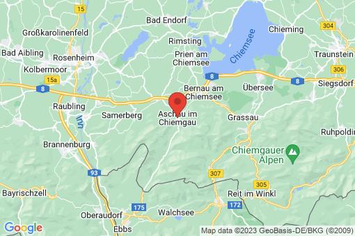 Karte Aschau im Chiemgau