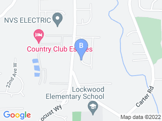 Map of Fetch! Pet Care Bothell Dog Boarding options in Bothell | Boarding