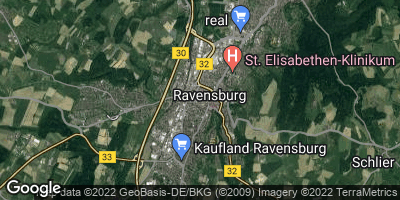 Google Map of Ravensburg