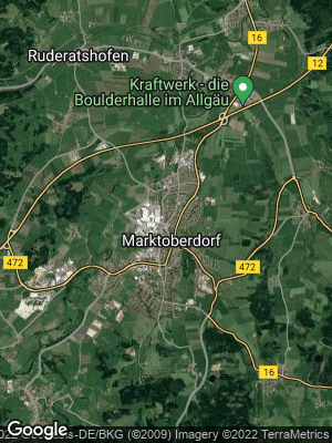 Google Map of Marktoberdorf