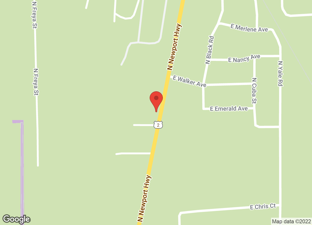 Google Map of VCA Peone Pines Animal Hospital