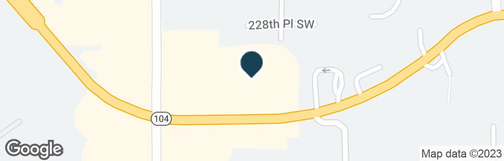 Google Map of9797 EDMONDS WAY