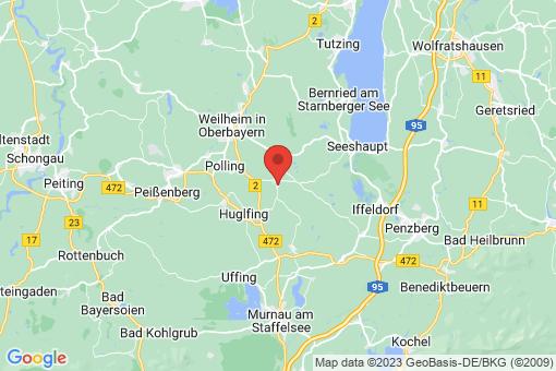 Karte Eberfing