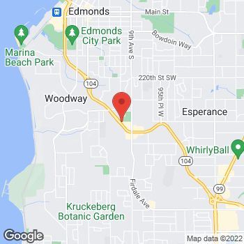 Map of Taco Bell at 10119 Edmonds Way, Edmonds, WA 98020