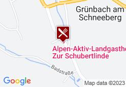 "Alpen-Aktiv-Landgasthof ""Zur Schubertlinde"" - Karte"