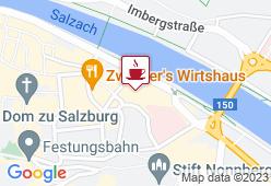 M-CAFE - ALTE GEWERBESCHULE DER UNIVERSITÄT SALZBURG - Karte