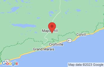 Map of Grand Marais