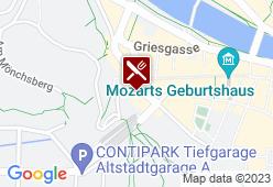 Alt Salzburg - Karte