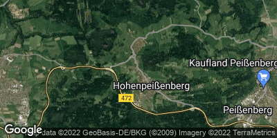 Google Map of Hohenpeißenberg