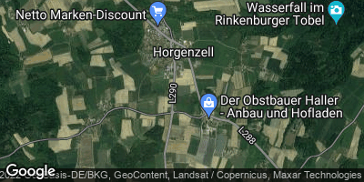 Google Map of Horgenzell