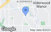 Map of Brier, WA
