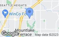 Map of Mountlake Terrace, WA
