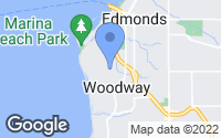 Map of Woodway, WA