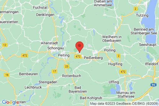 Karte Hohenpeißenberg