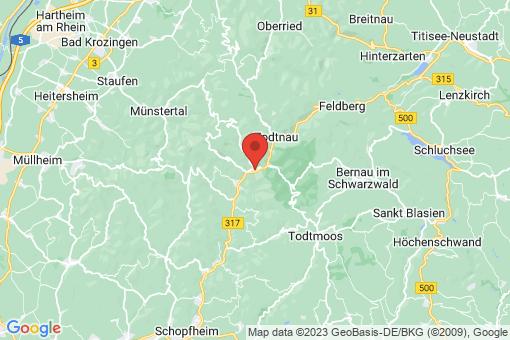 Karte Utzenfeld