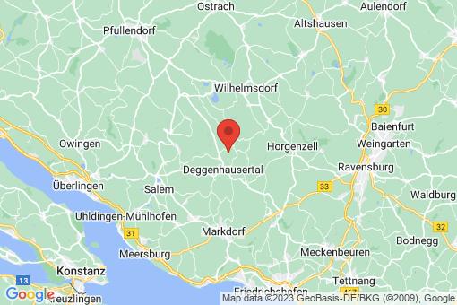 Karte Deggenhausertal